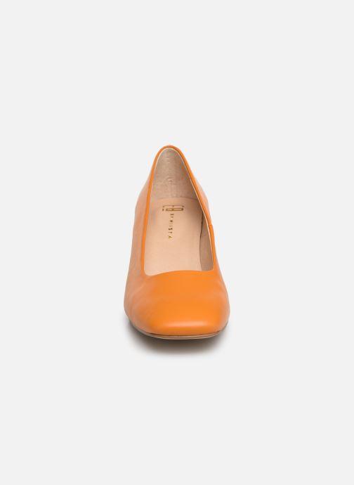 Escarpins E8 by Miista NOHEMI Orange vue portées chaussures