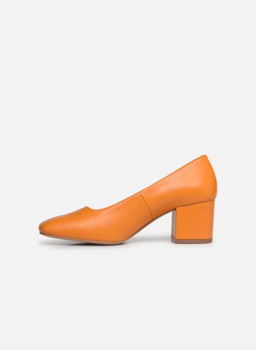 High heels E8 by Miista NOHEMI Orange front view