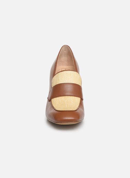 Høje hæle E8 by Miista LINNEA Brun se skoene på