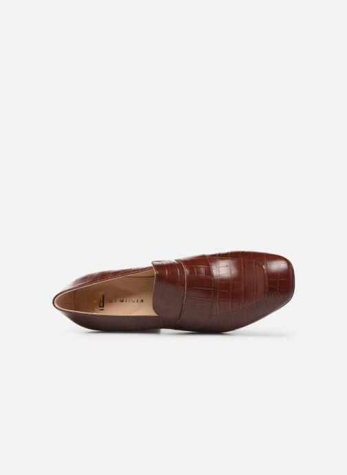 Zapatos de tacón E8 by Miista LINNEA Marrón vista lateral izquierda