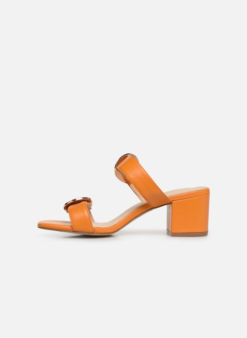 Mules et sabots E8 by Miista ANA Orange vue face