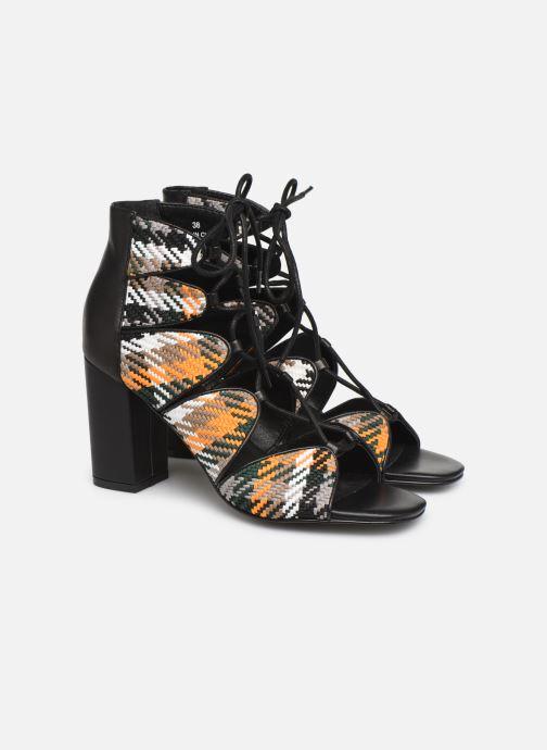 Sandals E8 by Miista ANABELLA Multicolor 3/4 view