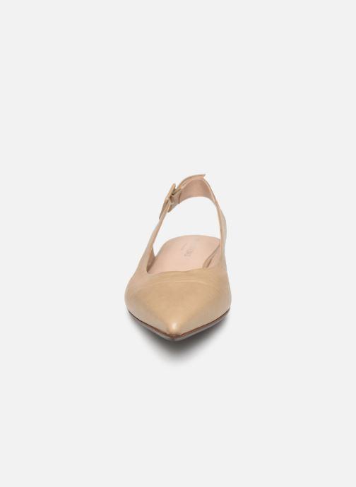 Ballerines Notabene Chanelle Beige vue portées chaussures