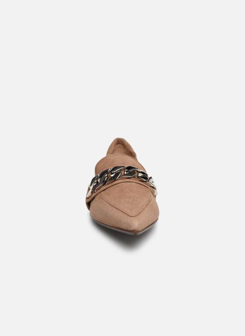 Mocassins Notabene Razer Marron vue portées chaussures