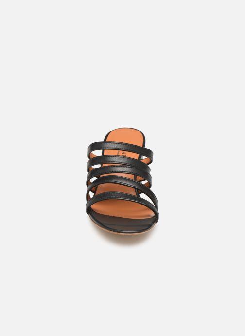 Mules et sabots Notabene Yuko Noir vue portées chaussures