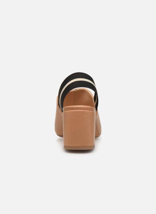 Sandales et nu-pieds Notabene Yuki Marron vue droite