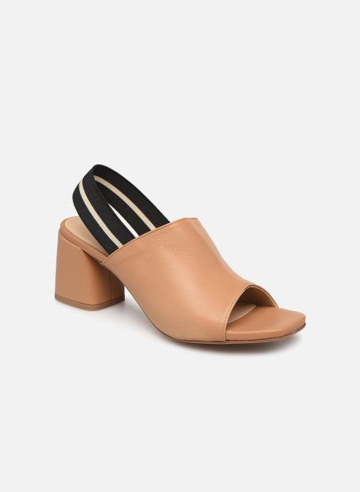 Sandales et nu-pieds Notabene Yuki Marron vue détail/paire