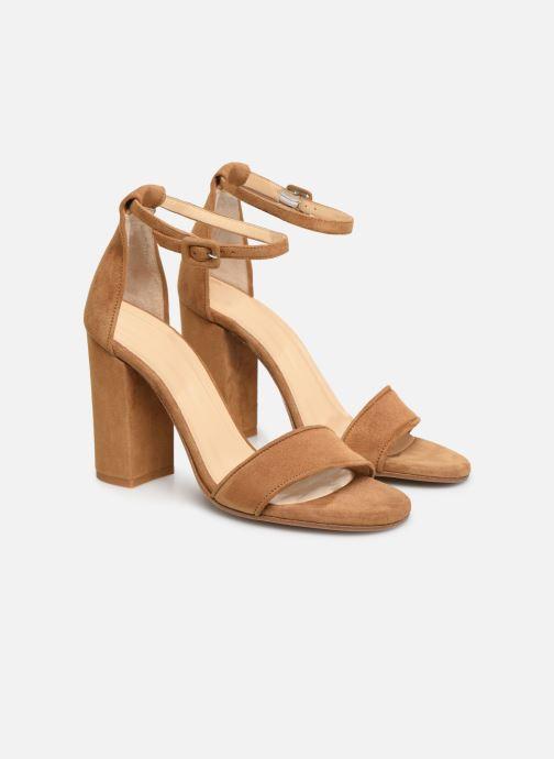 Sandals Notabene Akira Brown 3/4 view