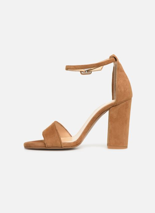 Sandals Notabene Akira Brown front view
