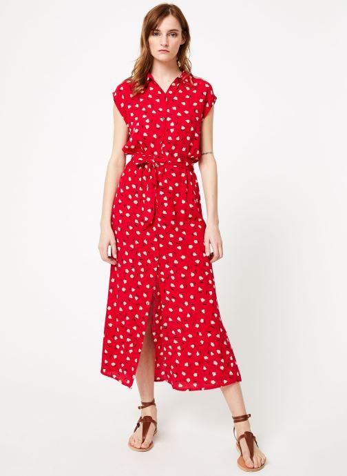 Vêtements Billabong little flirt dress Rouge vue bas / vue portée sac