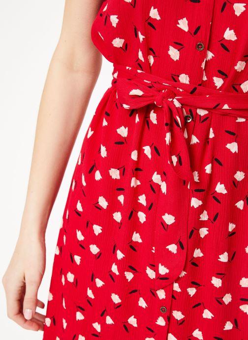 Vêtements Billabong little flirt dress Rouge vue face