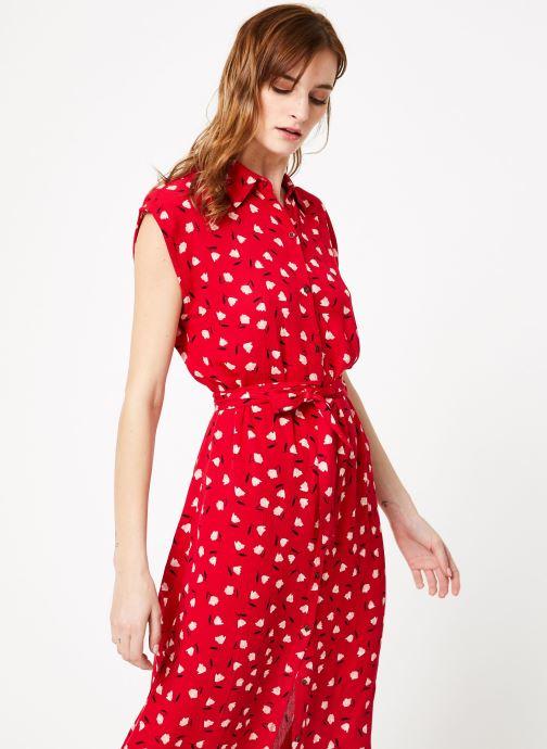 Vêtements Billabong little flirt dress Rouge vue droite