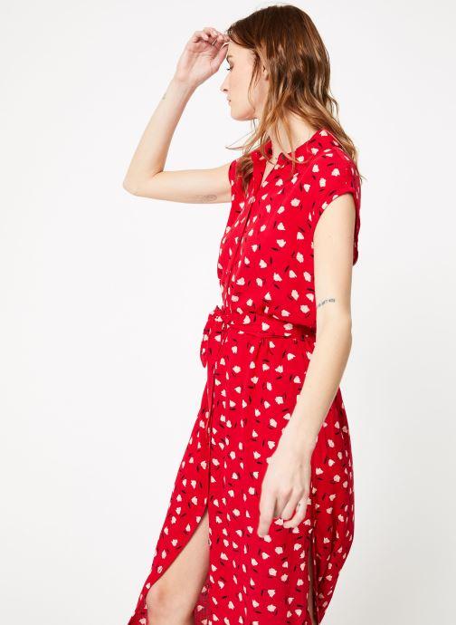 Vêtements Billabong little flirt dress Rouge vue détail/paire