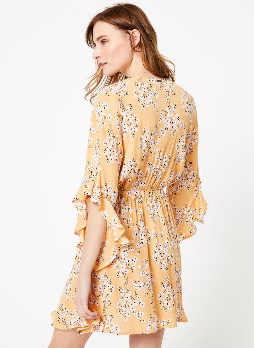 Vêtements Billabong love light dress Jaune vue portées chaussures