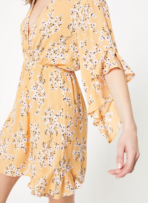 Vêtements Billabong love light dress Jaune vue face