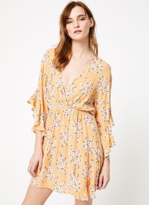 Vêtements Billabong love light dress Jaune vue droite