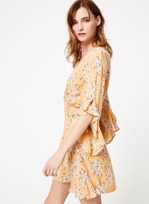 Vêtements Billabong love light dress Jaune vue détail/paire