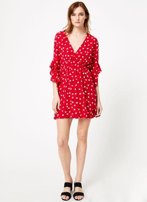Vêtements Billabong love light dress Rouge vue bas / vue portée sac