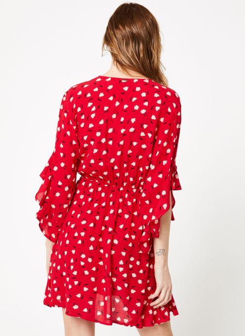 Vêtements Billabong love light dress Rouge vue portées chaussures