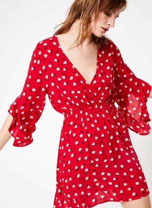 Vêtements Billabong love light dress Rouge vue détail/paire