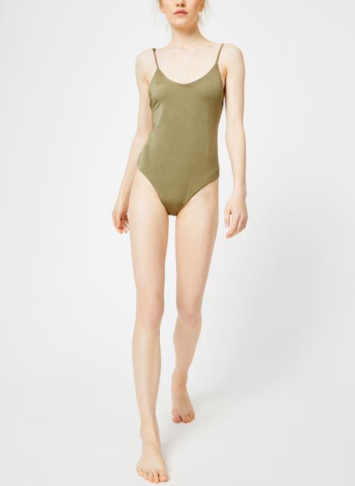 Vêtements Billabong sol searcher lace up 1 pc Vert vue bas / vue portée sac