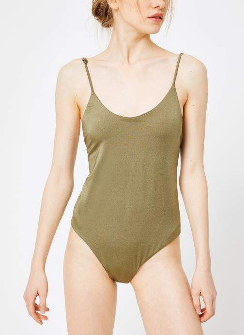 Vêtements Billabong sol searcher lace up 1 pc Vert vue droite