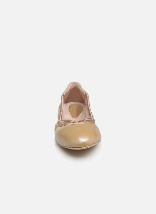 Ballet pumps Bloch Lauren Beige model view