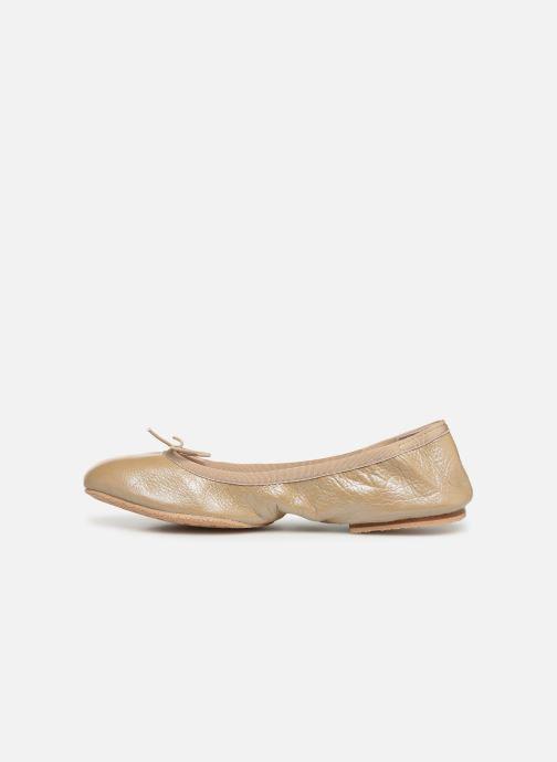 Ballet pumps Bloch Lauren Beige front view