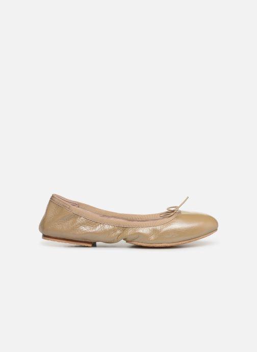 Ballet pumps Bloch Lauren Beige back view