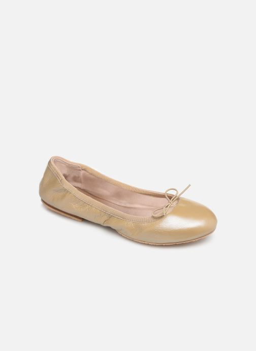 Ballet pumps Bloch Lauren Beige detailed view/ Pair view
