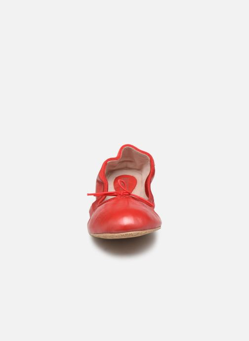 Ballerines Bloch Lauren Rouge vue portées chaussures