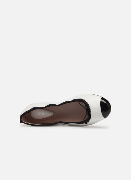Ballet pumps Bloch Luxury Ballet Flat White view from the left
