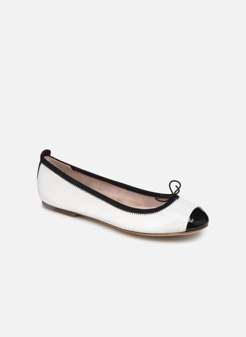 Ballet pumps Bloch Luxury Ballet Flat White detailed view/ Pair view