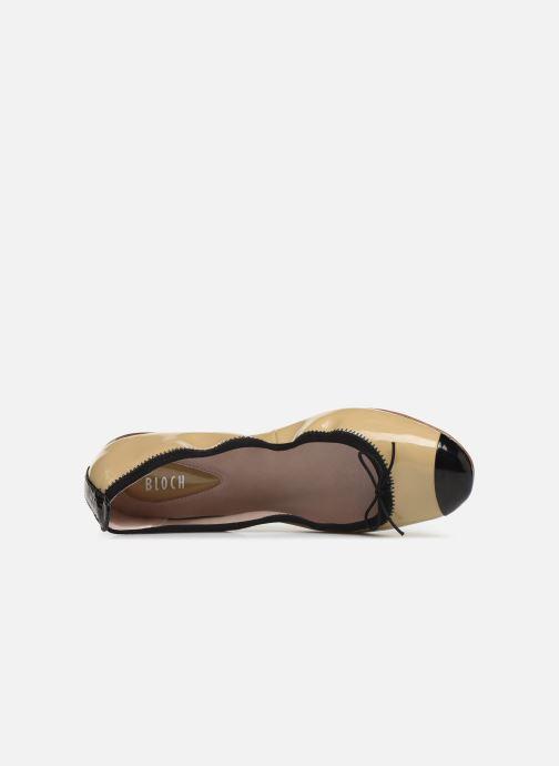 Bailarinas Bloch Luxury Ballet Flat Beige vista lateral izquierda