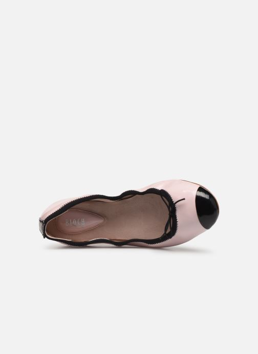 Ballet pumps Bloch Luxury Ballet Flat Pink view from the left