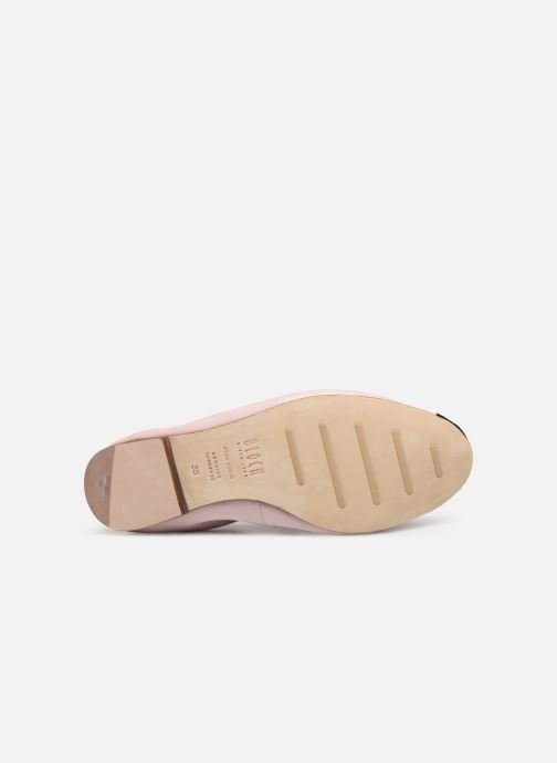 Ballet pumps Bloch Luxury Ballet Flat Pink view from above