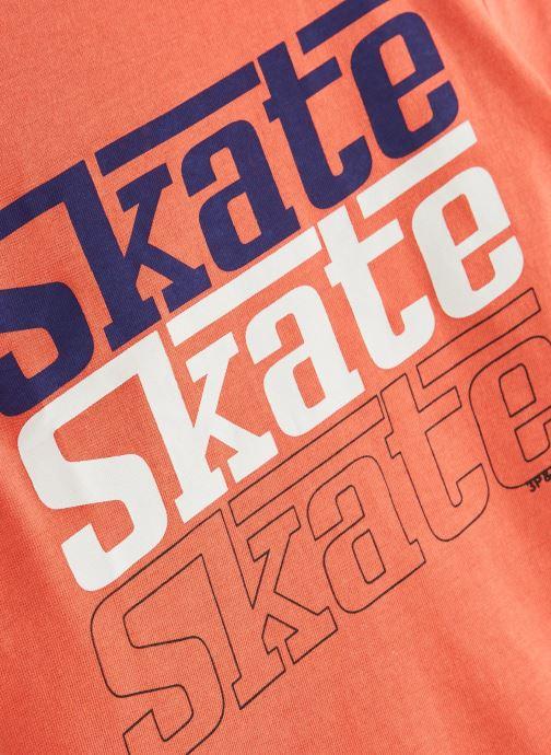 Abbigliamento 3 Pommes 3N10005 Arancione modello indossato