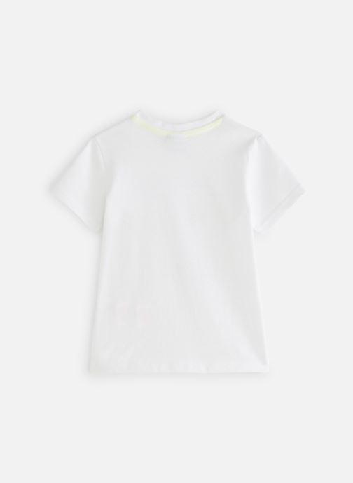 Vêtements 3 Pommes 3N10013 Blanc vue bas / vue portée sac