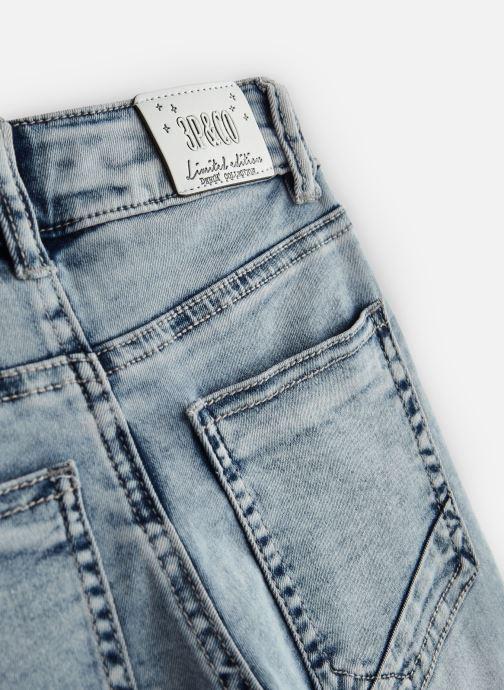 Vêtements 3 Pommes 3N25055 Bleu vue portées chaussures