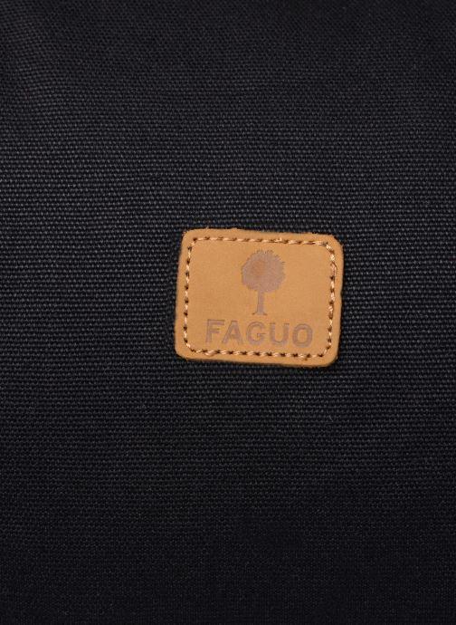 Sporttaschen Faguo DUFFLE schwarz ansicht von links