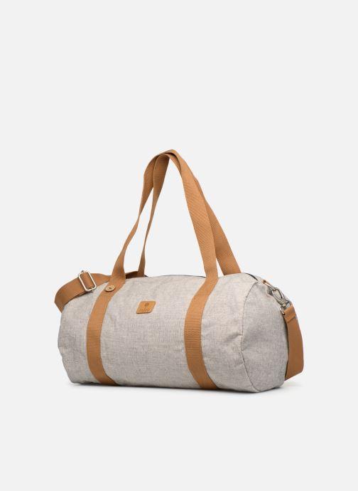 Sporttaschen Faguo DUFFLE beige schuhe getragen