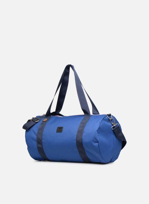 Sporttaschen Faguo DUFFLE blau schuhe getragen