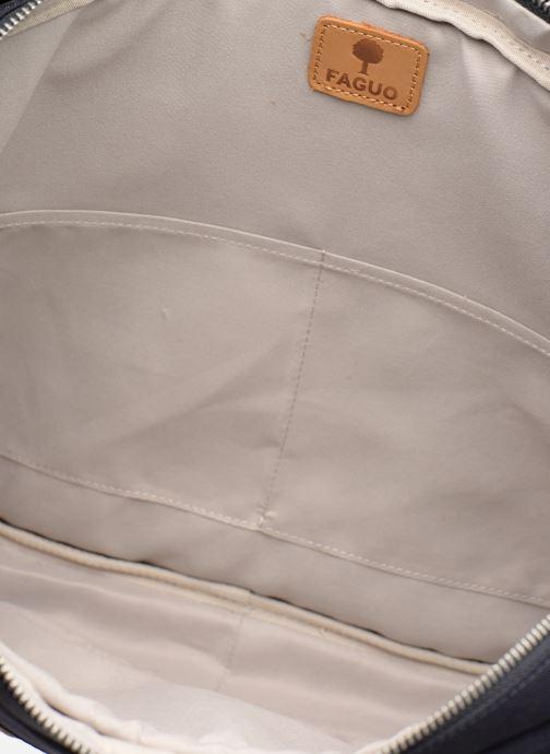 Laptoptaschen Faguo LAPTOP blau ansicht von hinten