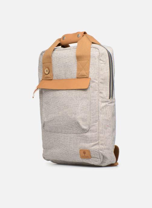 Rucksäcke Faguo URBAN BAG beige schuhe getragen