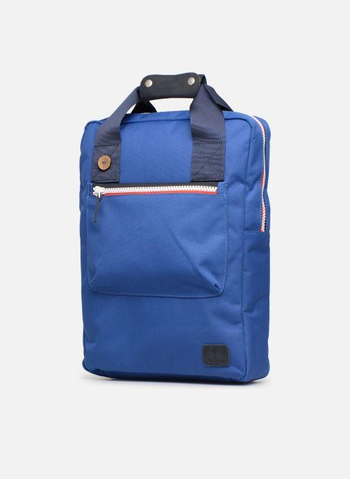 Rucksacks Faguo URBAN BAG Blue model view