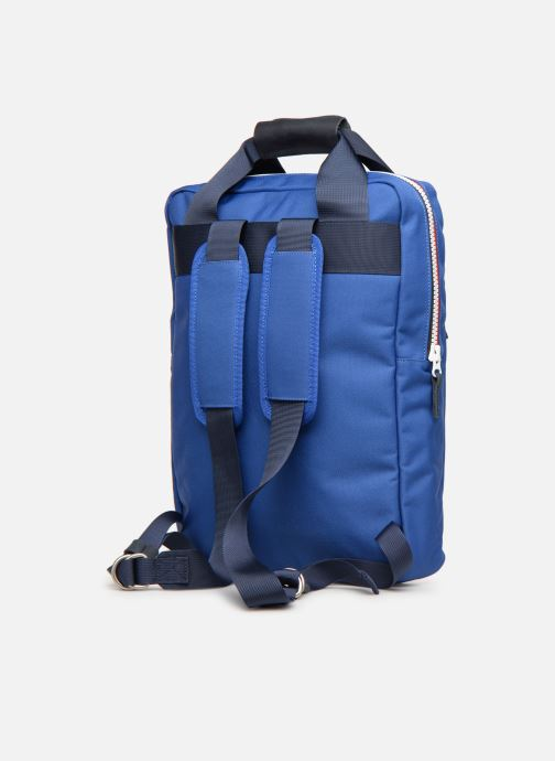 Rucksacks Faguo URBAN BAG Blue view from the right