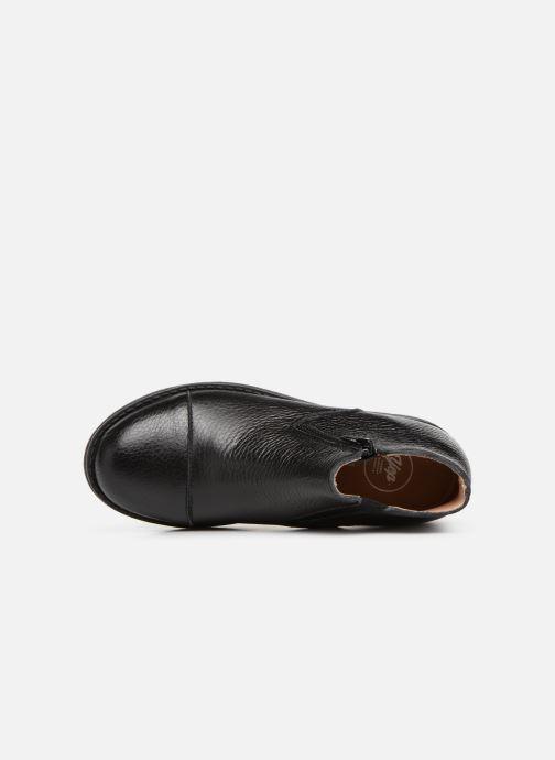 Bottines et boots Yep Narcisse Noir vue gauche
