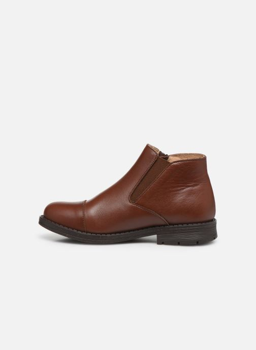 Bottines et boots Yep Narcisse Marron vue face