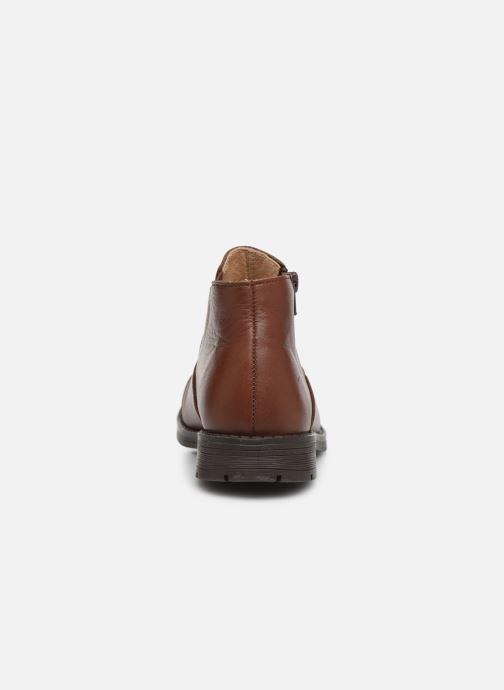 Bottines et boots Yep Narcisse Marron vue droite
