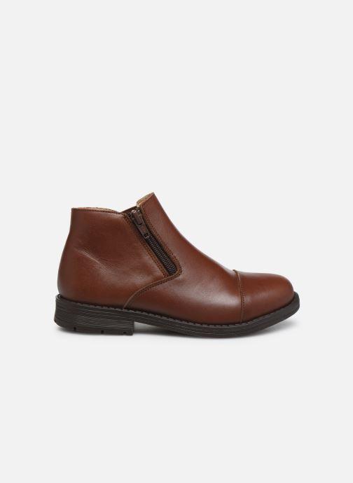 Bottines et boots Yep Narcisse Marron vue derrière